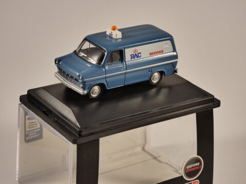 FORD TRANSIT Mk1 - RAC 1/76 scale model OXFORD DIECAST
