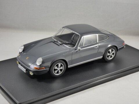 1968 PORSCHE 911 S in Grey 1/24 scale model by Whitebox
