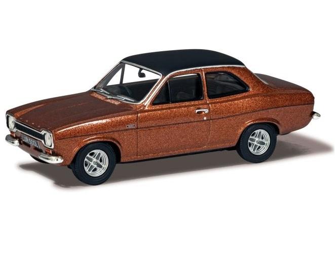 FORD ESCORT Mk1 MEXICO in Copper Brown Metallic - 1/43 scale model by Corgi