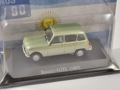 1985 RENAULT 4 GTL in Green - 1/43 scale partwork model
