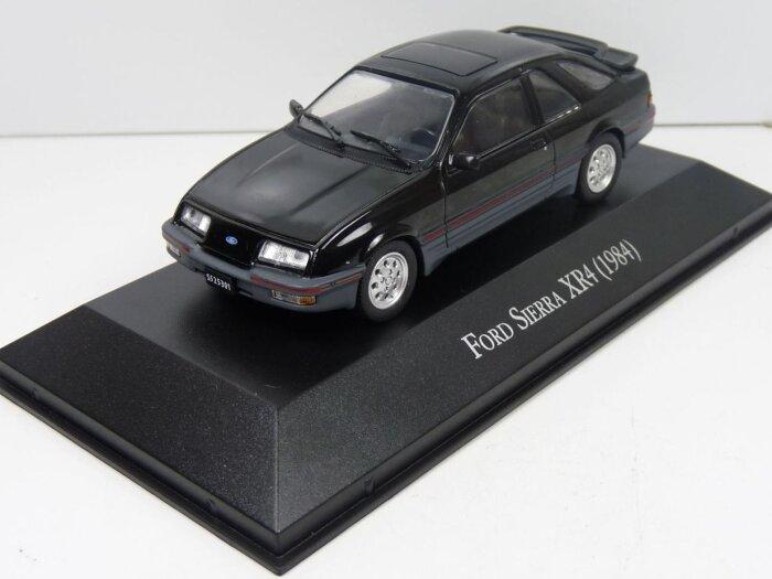 1984 FORD SIERRA XR4 in Black - 1/43 scale partwork model