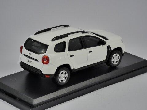 2018 DACIA DUSTER Mk2 in White - 1/43 scale model NOREV