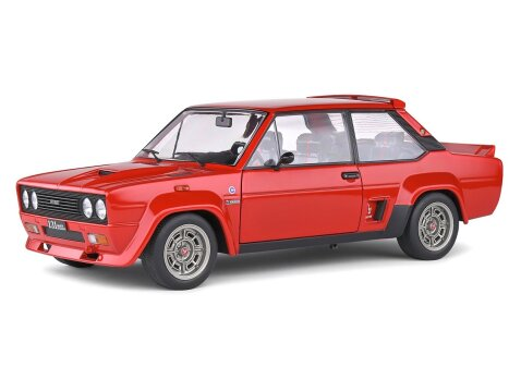 1980 FIAT 131 ABARTH STRADALE in Red 1/18 scale model by Solido