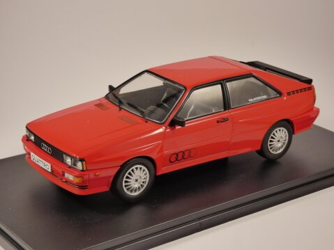 1988 AUDI QUATTRO in Red 1/24 scale model by Whitebox